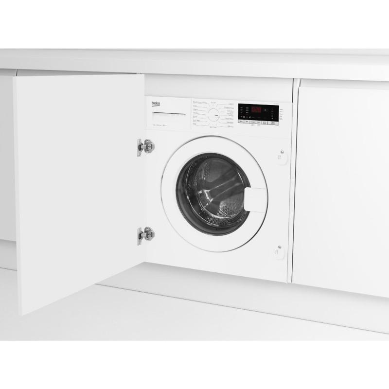 Beko WIC74545F2 Built In 1400 Spin 7kg Washing Machine