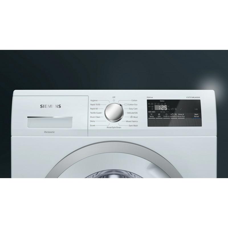 Siemens extraKLASSE iQ300 WM14N190GB 1400 Spin 7kg Washing Machine
