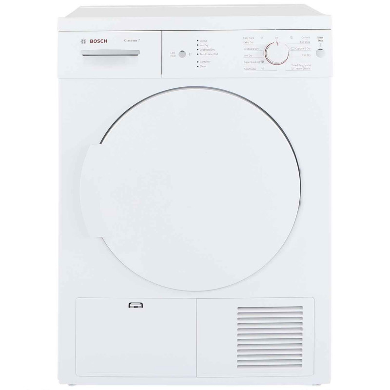 Bosch Dryer: Buy Bosch WTE84106GB 7kg Condenser Tumble Dryer
