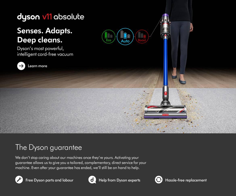 Dyson Cyclone V11 Absolute Plus