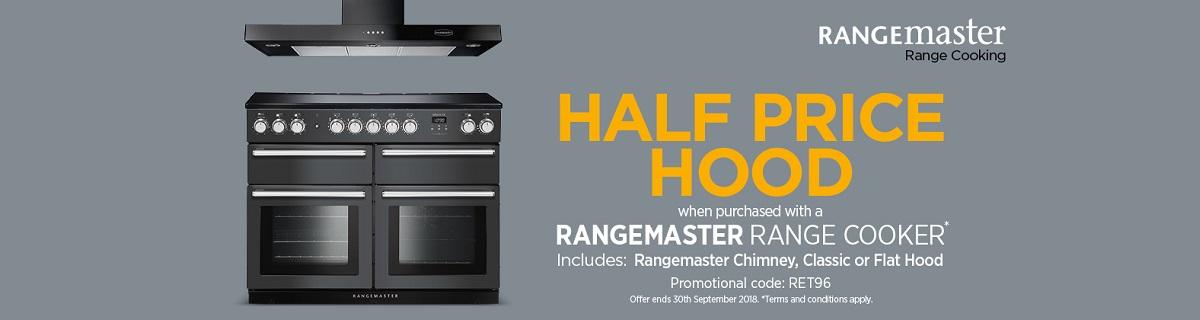 Rangemaster Half Price Hood Promotion