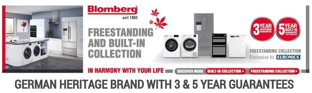 Blomberg Freestanding & Built-in Appliances