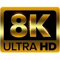 8K Ultra HD TVs
