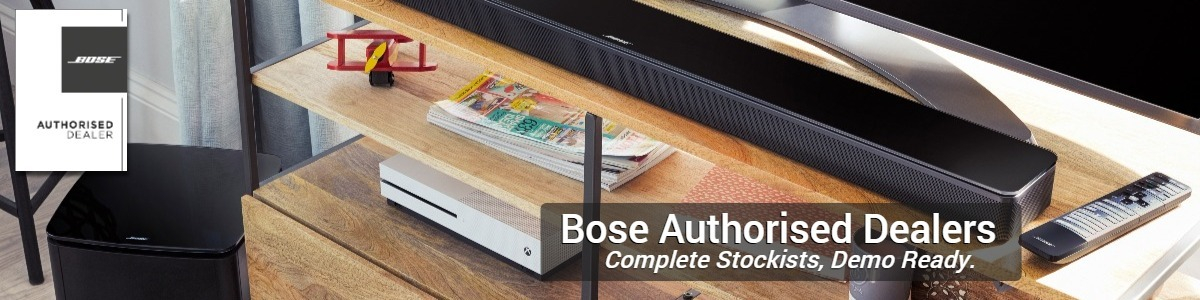 We are a Bose Authorised Dealer and Reseller for the Lifestyle, SoundTouch, SoundLink and Solo products