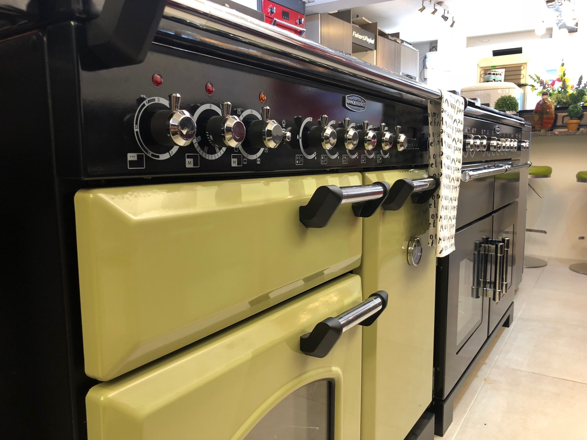 Get hands on with the cookers