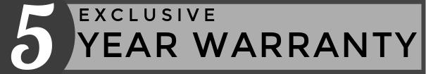 Exclusive 5 Year Warranty on Smeg Victoria