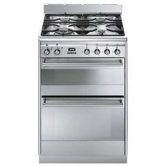 Smeg SUK62MX8 60cm Dual Fuel Cooker