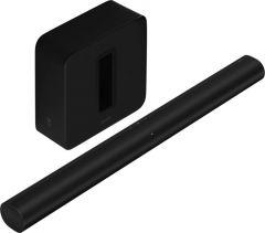 Sonos Arc Soundbar Black & Sonos Sub Black