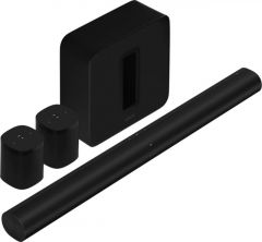 Sonos Arc Soundbar, Sub & 2x One SL - Black