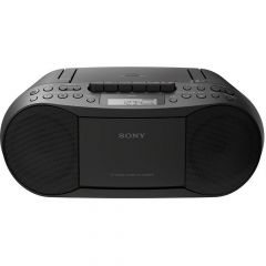 Sony CFDS70BCEK Cassette / CD / Radio Boom Box