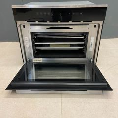 Rangemaster RMB60TZBL/SS Built In Twin Zone Single Oven