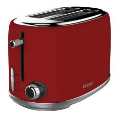 Linsar KY865RED 2 Slice Toaster in Red