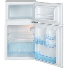 Lec T50084W Under Counter Static Fridge Freezer
