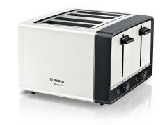 Bosch TAT5P441GB 4 Slice Toaster - White