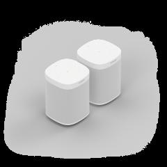 Sonos One (Gen 2) Bundle (x2) - White