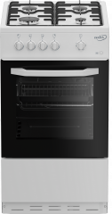 Zenith ZE501W 50cm Single Oven Gas Cooker