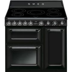 Smeg Victoria TR93IBL 90cm Induction Range Cooker - Black
