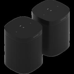 Sonos One SL Bundle (x2) - Black