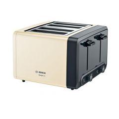 Bosch TAT4P447GB 4 Slice Toaster - Cream