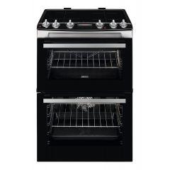 Zanussi ZCI66288XA 60cm Double Oven Electric Induction Cooker