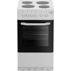 Zenith ZE503W 50cm Single Oven Electric Cooker