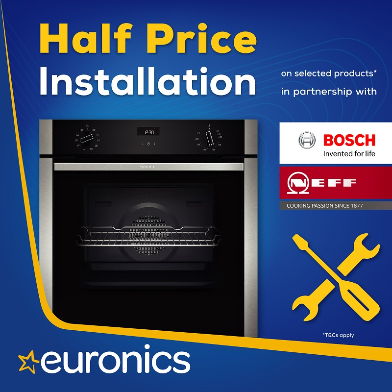 Half Price Recycling & Installation on selected Siemens appliances