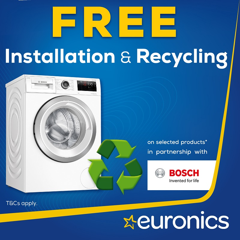 Free Installation & Recycling Promotional date: 05.05.21 - 25.05.21
