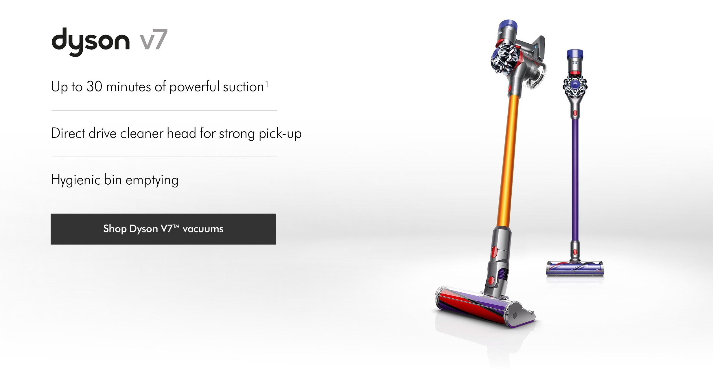 Dyson V7 Vacuum Cleaners