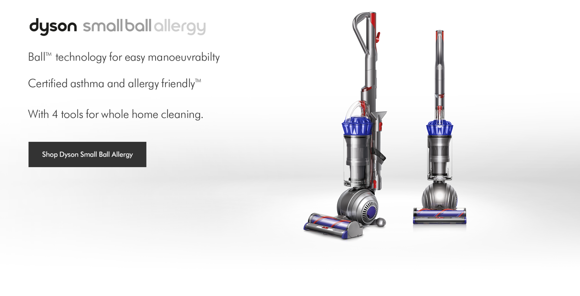 Dyson Light Ball Upright Vacuum Cleaners