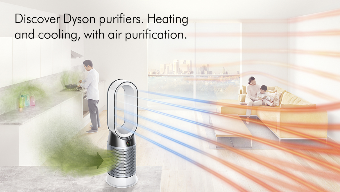 Dyson Heating and Cooling Air Purifiers