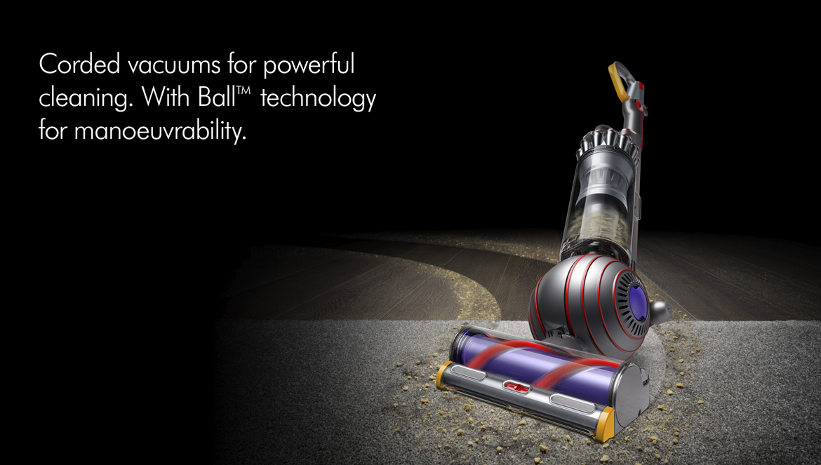 Dyson Corded Vacuums with Ball Technology