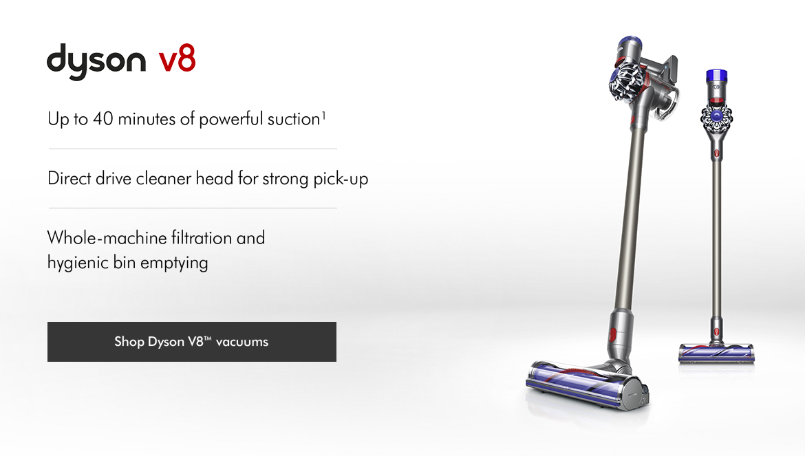 Dyson V8 Vacuum Cleaners