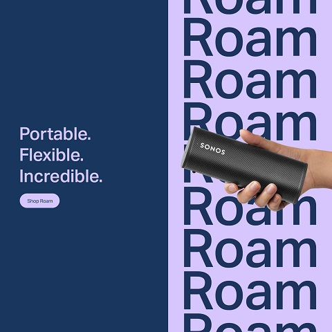 Buy the new Sonos Roam