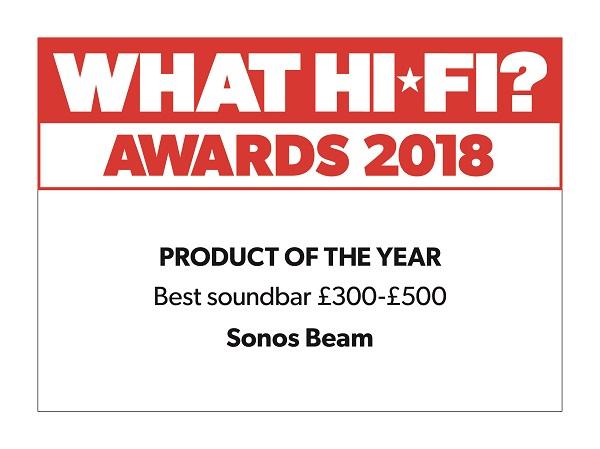 Sonos Beam What Hi-Fi Award Winner