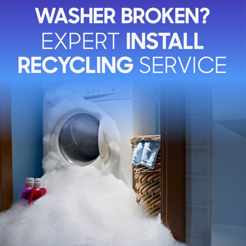 Washing Machine Delivery, Installation & Recycling Available